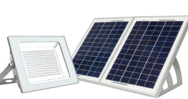 Microsolar Lithium Battery 180 Led Ip65 Solar Floodlight Dusk To Dawn At Good Sunshine Including 16 4 Feet Wire Wall Solar Wall Mount Dusk To Dawn