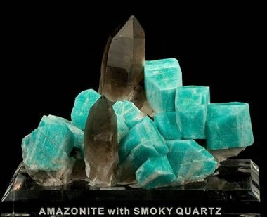 Colorado Amazonite And Smoky Quartz Irocks Stones And Crystals