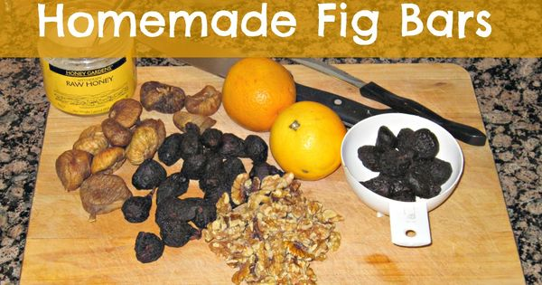 Cookie Alternative: Fig Bar Recipe | Homemade, Jack o'connell and ...