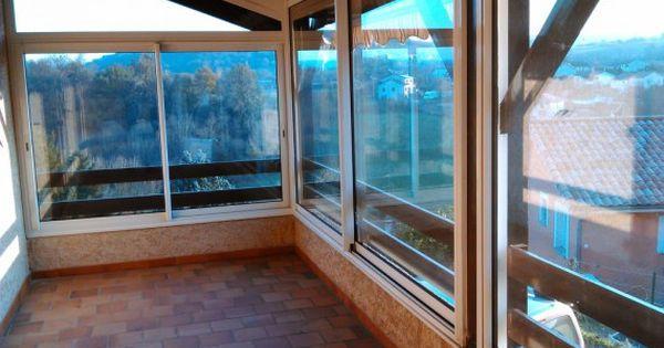 Fermeture De Balcon Balcon Travail Photo Veranda