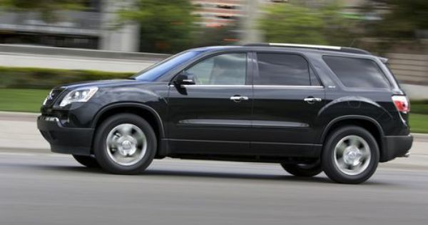 Website That Compares 7 8 Passenger Suvs Gmc Acadia Car Acadia