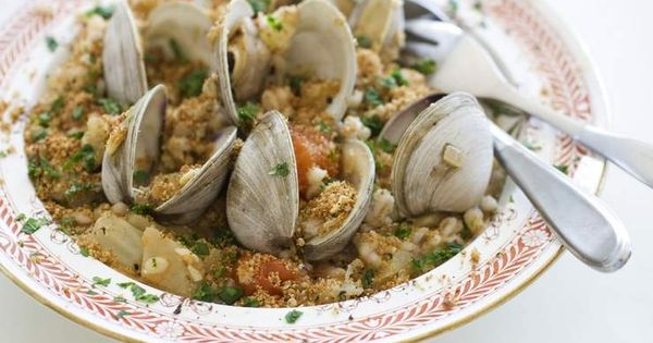 healthy alternative to white pasta with clams | Clams, Apps and ...