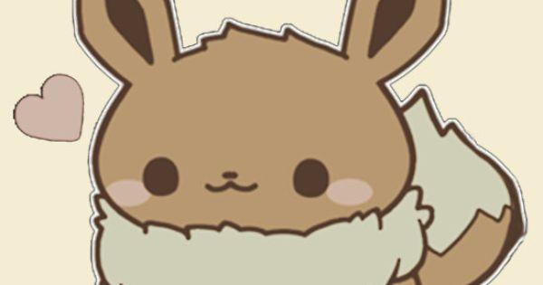 Eevee Cute Pokemon Baby And Kid Pinterest Pok 233 Mon Kawaii And Anime