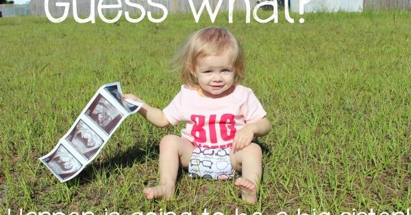 second baby announcement images Google Search – Ways to Announce a Second Baby