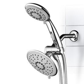 Hydroluxe 6 In Chrome Showerhead With Hand Shower 1841 Shower