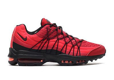 Nike Men's Air Max 95 Ultra SE Gym Red Night Maroon Shoes