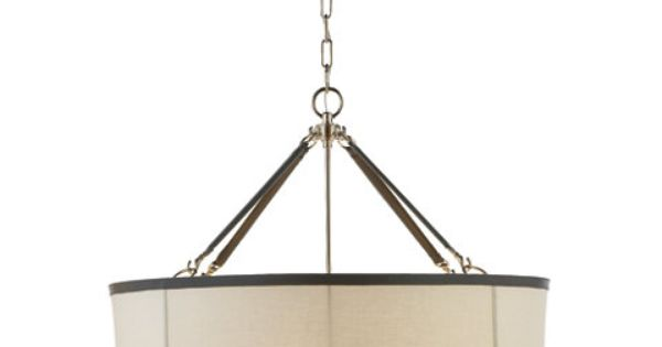 Broomfield large pendant ceiling fixtures lighting for Visual comfort ralph lauren