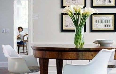 Arredare con mobili antichi e moderni sala da pranzo for Arredare con mobili antichi e moderni