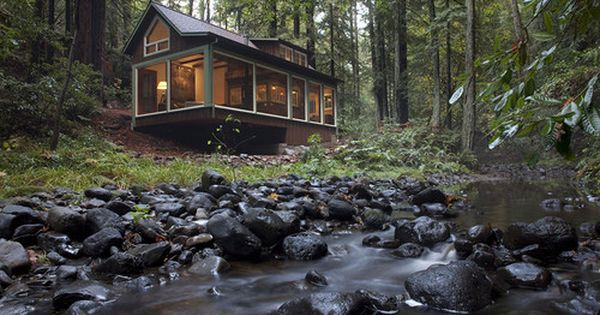Creek Side Cabin, Santa Rosa, California (hannah's dream house)