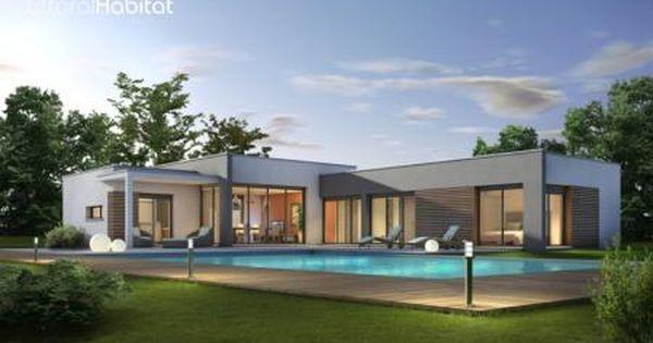 Mod le pereire du constructeur de maison littoral habitat for Constructeur de maison nice