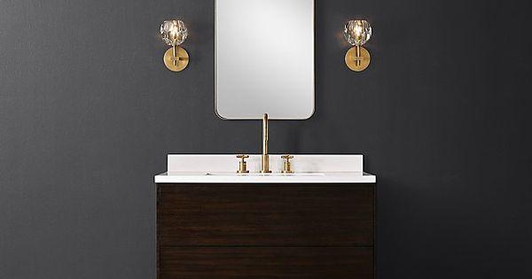 Bowen Single Vanity Vanity Single Vanity Custom Bath