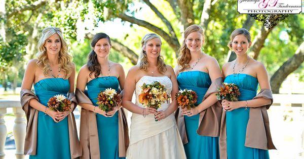 Teal/oasis bridesmaid dresses | Bridesmaid Dresses | Pinterest ...
