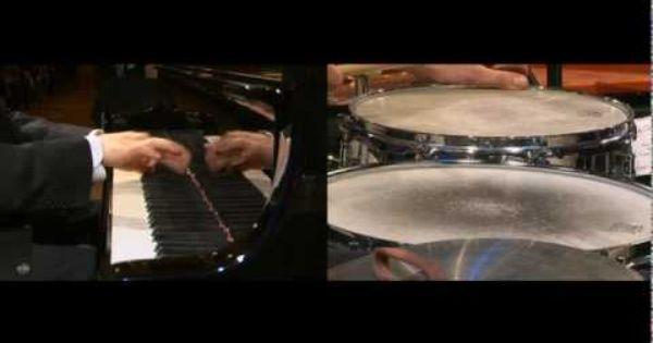 Béla Bartók - Sonata for 2 Pianos and Percussion Sz.110, 3rd Mvt ...