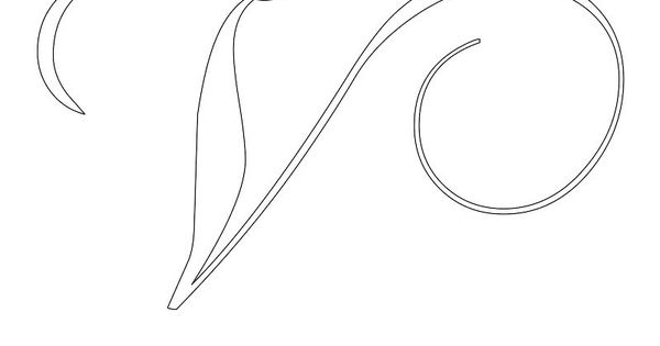 1faa885283cdd3c314f69388bcea24be Quilling Templates Letter V on