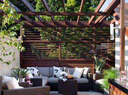 Ideas para patios peque os jardin decoraci n for Mobiliario para balcones