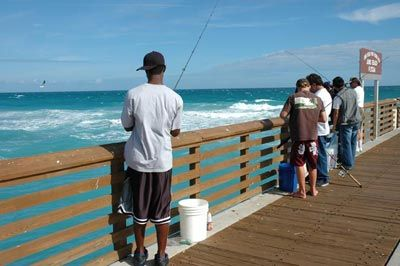 Pier fishing tips world fishing network saltwater for Pier fishing tips