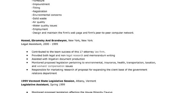 Lawyer Resume Examples It Shows The Activity When We Do