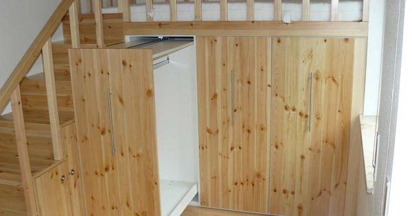 schrank unter hochbett bett pinterest hochbetten. Black Bedroom Furniture Sets. Home Design Ideas