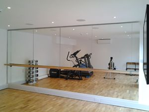 Pilates At Home Our Integra Mirror Pilates Barre Installation