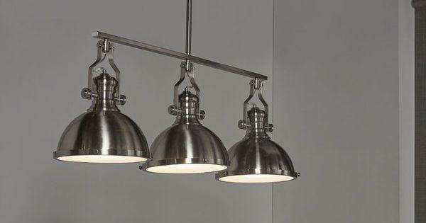 De look van oude fabriekslampen boven je eettafel wonen industrieel industrieel wonen - Rustieke eetkamer decoratie ...