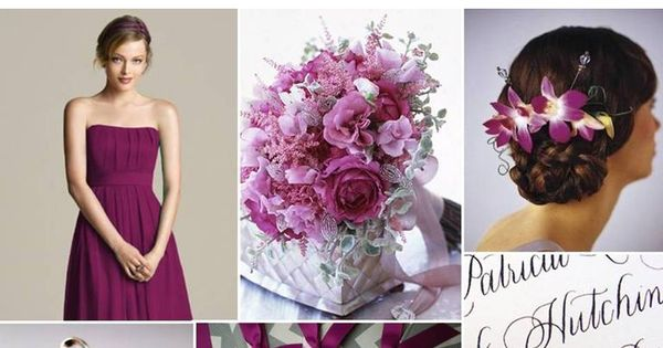 Wedding color palette greys and purples -repinned by http://dazzlemeelegant.com