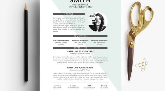 resume   cover letter   3 page resume   custom   easy