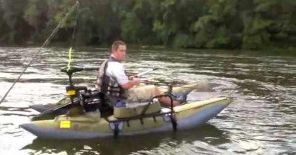 Colorado xt pontoon on catawba river youtube classic for Catawba river fishing