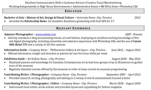 click here to download this art inventory analyst resume