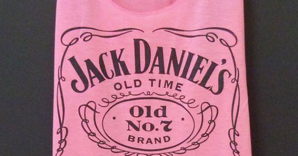 Pink Jack Daniel's Tank Top