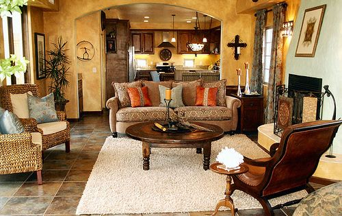 new mexican design ideas | Mexican Style Living Rooms