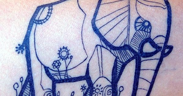one of the best elephant tat's I've ever seen