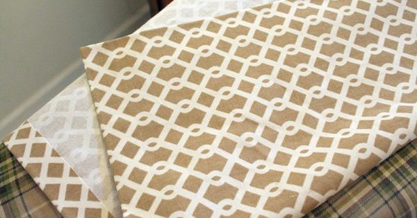 How to make curtains without sewing diy pinterest How to make a valance without sewing