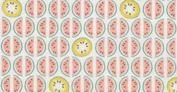 Tissu coton corail motif past que mondial tissus mondial tissus pinterest - Www mondialtissus com ...