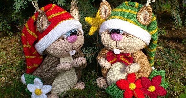 Gro?e Eichh?rnchen, Haklanleitung Amigurumi and Crochet