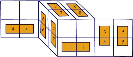 Magic Folding Cube But Put Fabric Around Soft Foam Squares