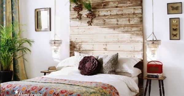 45 Cool Headboard Ideas To Improve Your Bedroom Design wooden headboard floral
