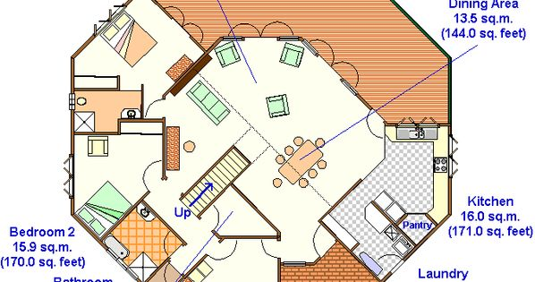floor plan of a 2 story yurt yurts ghers and tipi. Black Bedroom Furniture Sets. Home Design Ideas