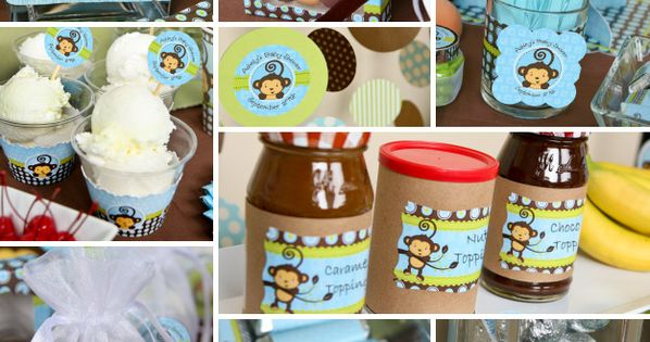Monkey Boy Party Theme http://www.bigdotofhappiness.com/monkeyboytheme.html
