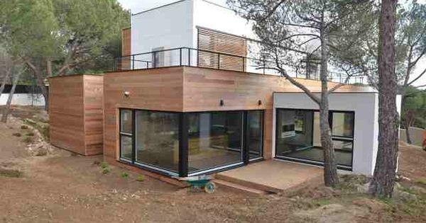La casa de madera m s grande de espa a ahorra el 90 en - Casas prefabricadas de madera espana ...