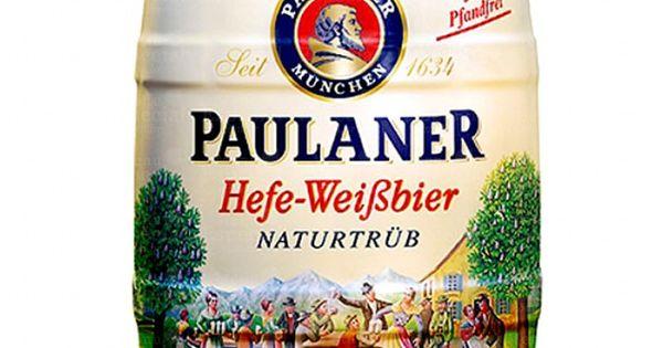 Cerveja Paulaner Hefe-Weissbier Barril 5L | Bebidas ...