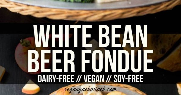 White Bean Beer Fondue Makes For A Fun Appetizer To Be Shared