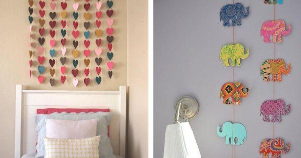 Decorar las paredes de forma original decorar paredes - Paredes economicas ...