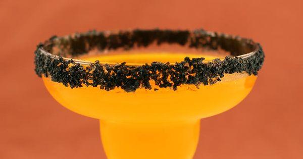 Hallow-Rita: Halloween Margarita (tequila, triple sec, lime juice, limeade, orange juice, and