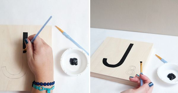 how to make giant scrabble tile table numbers tuile tutoriels et tables en carrelage. Black Bedroom Furniture Sets. Home Design Ideas