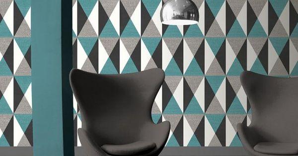 papier peint effet d 39 optique ugepa decoration murale wall decoration pinterest optique. Black Bedroom Furniture Sets. Home Design Ideas