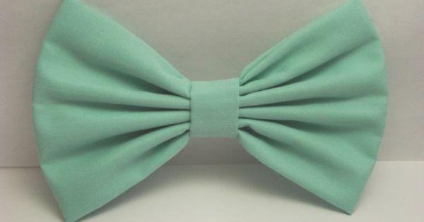Clip Art Bow Clip mint hair bow clip big bows by cutiecutebows 4 99 so cute my wish list pinterest bow