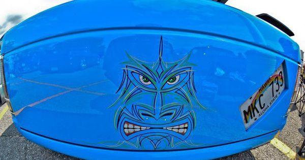 Tiki Tailgate Pinstriping Pinstriping Hotrod Art Custom