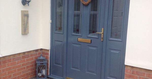 Painted my front door with sandtex exterior satin used their base coat colour is seclusion - Sandtex exterior paint ideas ...