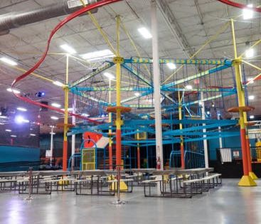 Kid Friendly Family Fun Attractions In Nashville Tn Urban Air Trampoline And Adventure Park Adventure Park Trampoline Park Best Trampoline