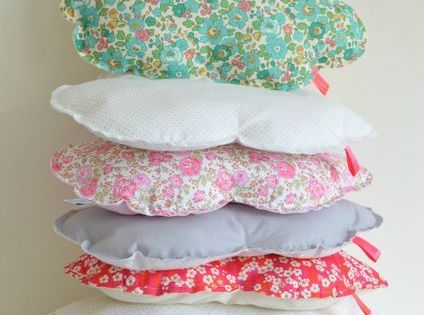 flower cloud pillows: They seem to be out of stock and oversees